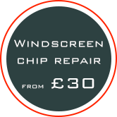windscreen repairs from £30 banner